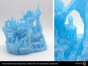 Fillamentum PLA Crystal Clear Iceland Blue